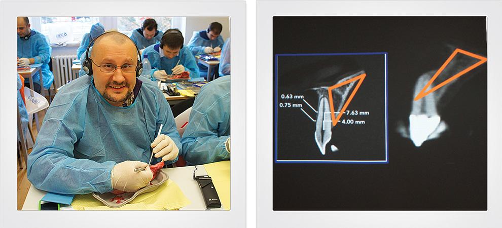 Доктор Едранов проходит практическую часть курса в Неккаргемюнде