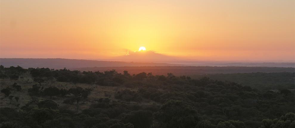 Встречаем в Африке рассвет!