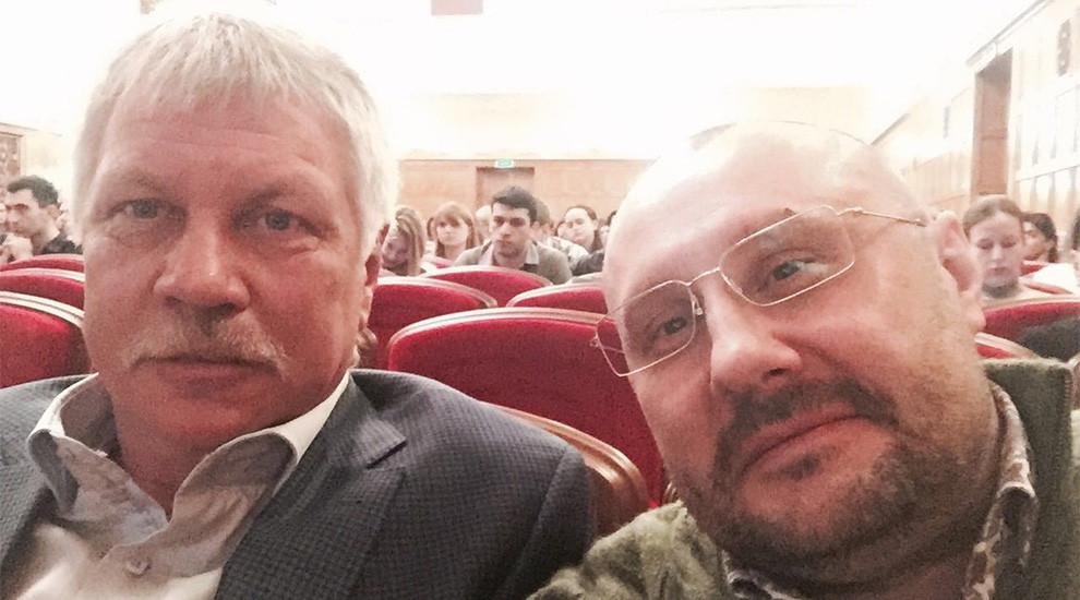 Встреча с профессором Параскевичем