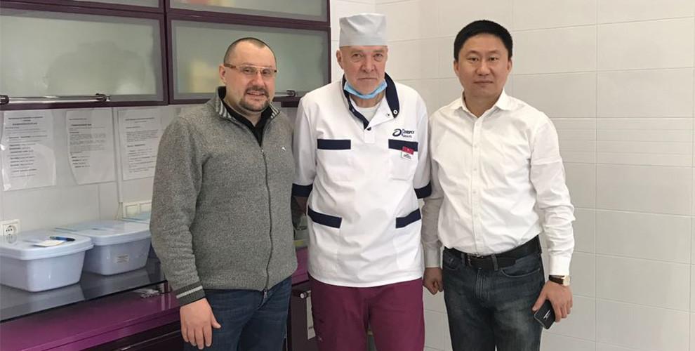 Посещение стоматологического центра профессора Ушакова 7 февраля 2017 г.