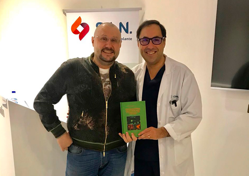 Сергей Едранов посетил мировой лекционно-практический курс по имплантации в Португалии