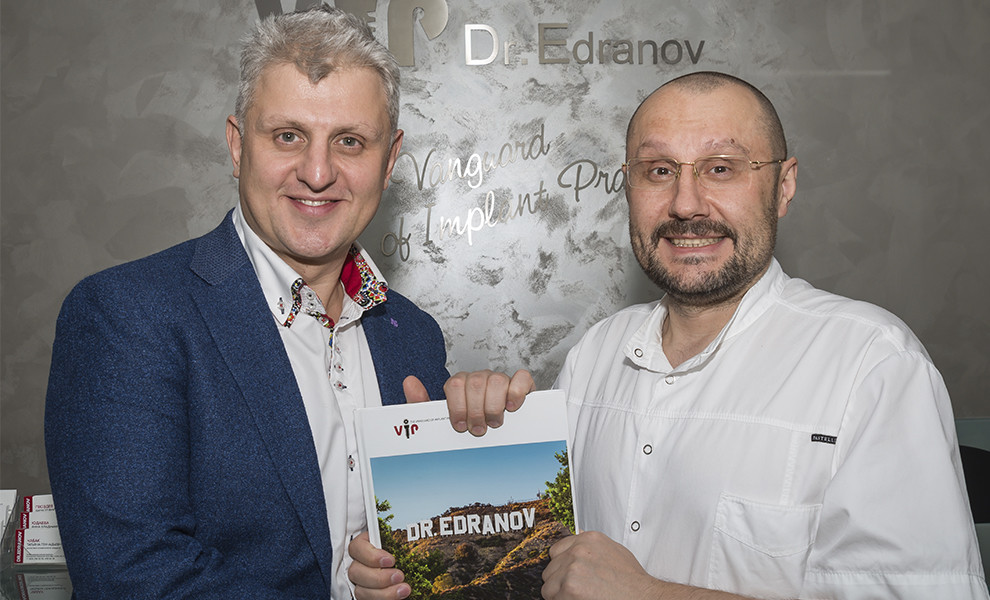 """Ренат Рашитович Ахмеров, разработчик системы """"Плазмолифтинг®"""", посетил клинику """"Dr.Edranov"""""""