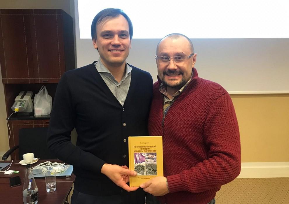 Доктор Едранов посетил курс Томаса Линкявичюса