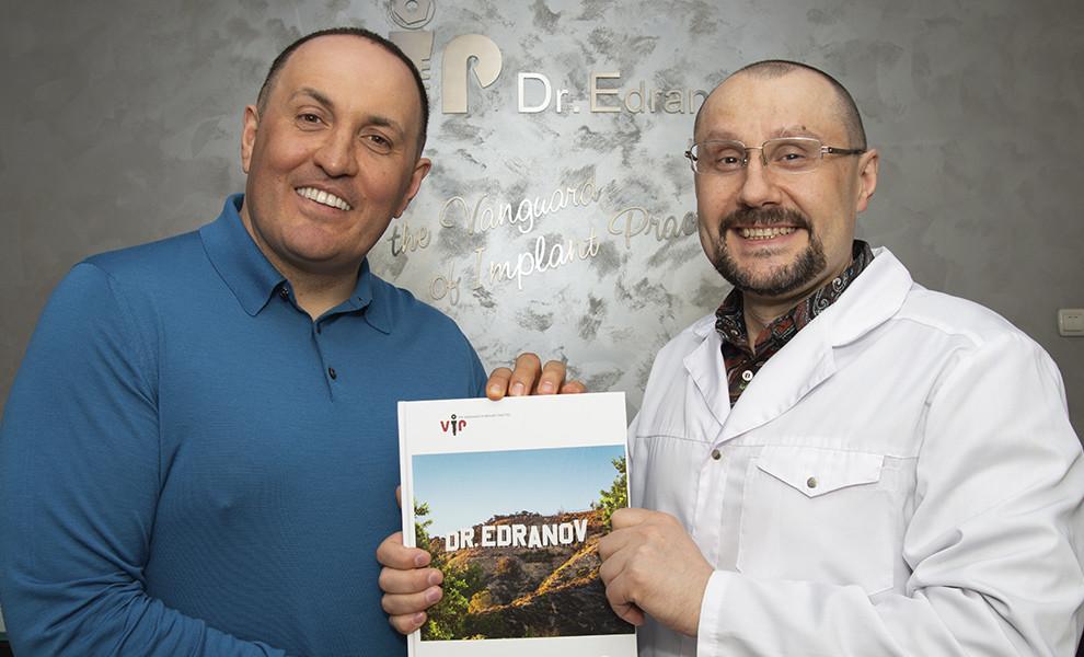 Эдуард Георгиевич Бабакохян стал почетным гостем клиники Dr.Edranov