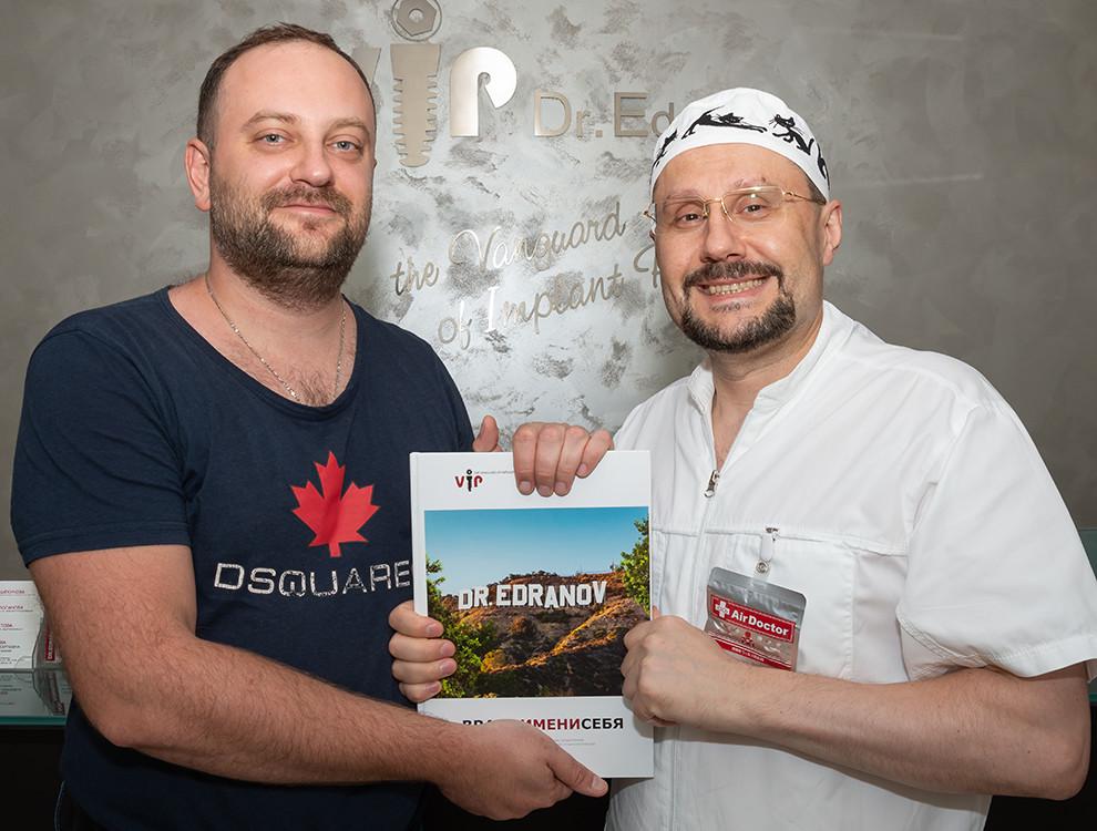 Гостем Профессорской клиники Едранова стал врач Данил Владимирович Семченко