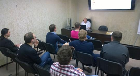 Заседание дискуссионного клуба в Учебном центре доктора Едранова по теме: «Пародонтология»